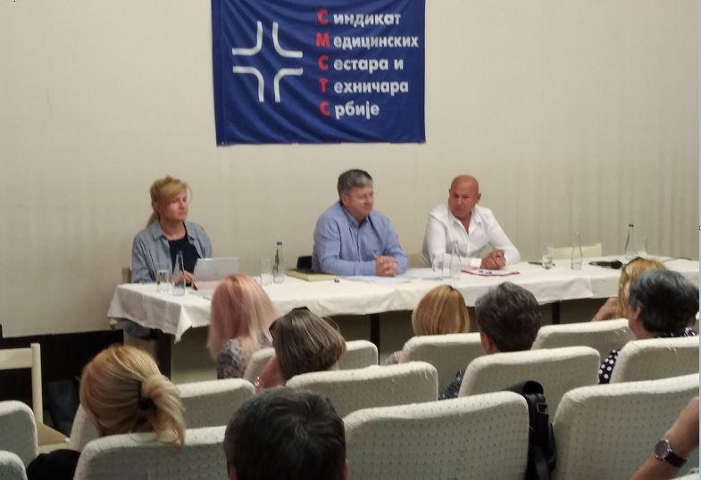 РЕДОВНА ГОДИШЊА СКУПШТИНА СИНДИКАТА МЕДИЦИНСКИХ СЕСТАРА И ТЕХНИЧАРА СРБИЈЕ